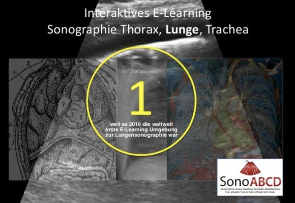 "E-Learning ""Lungensonographie"""